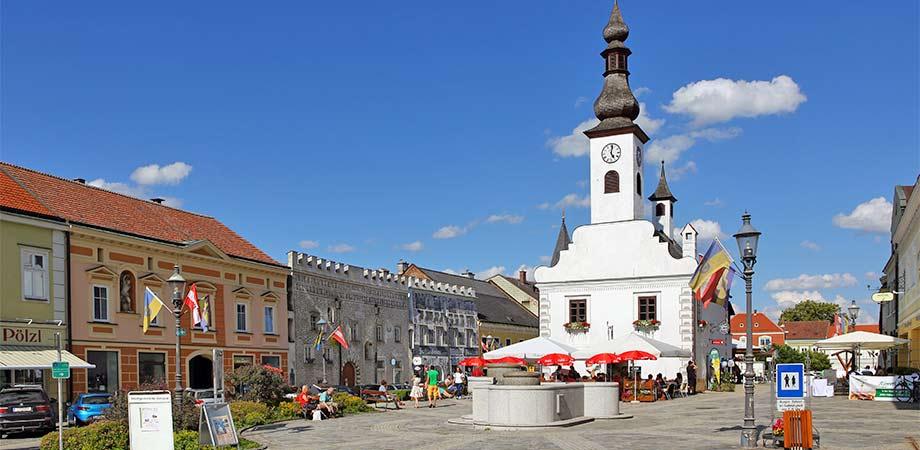 Rathaus in Gmünd