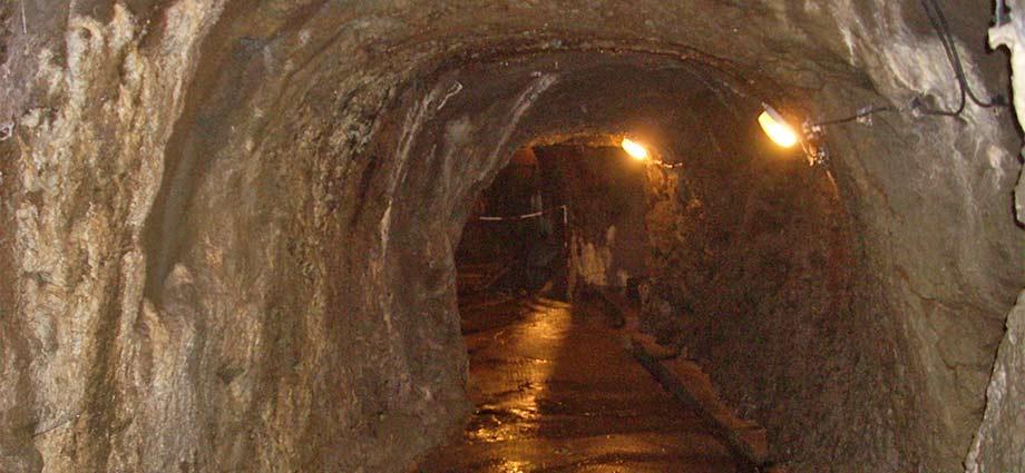 Unterirdisches Ganglabyrinth in Jihlava