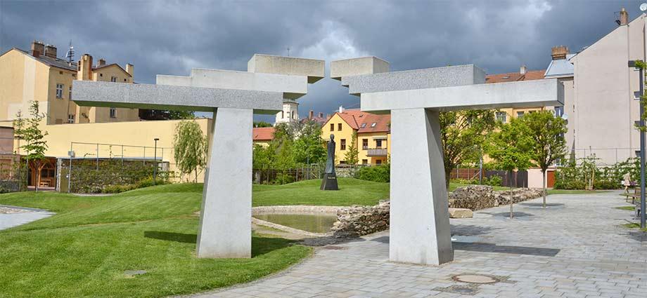 Gustav Mahler Park in Jihlava