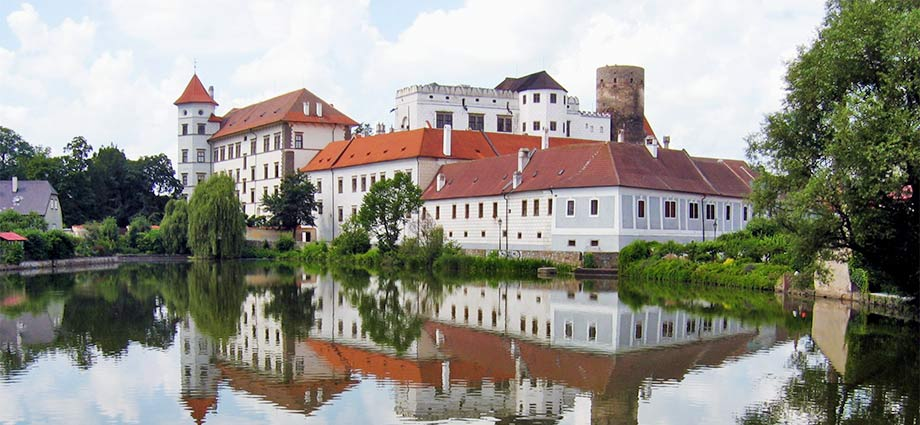 Das Schloss Jindřichův Hradec