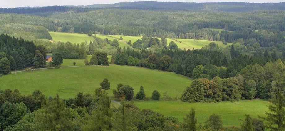 Tschechisches Kanada: Bergland Vysokokamenská